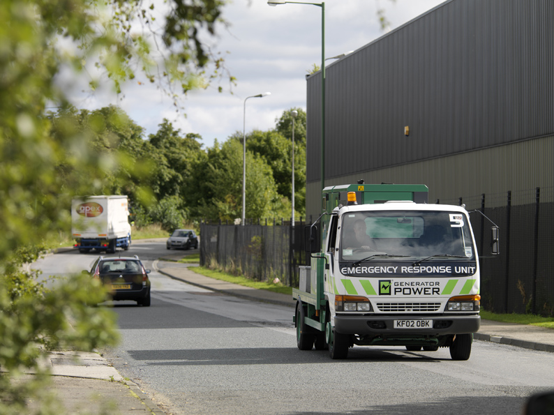 Generator Power Emergency Response Vehicle