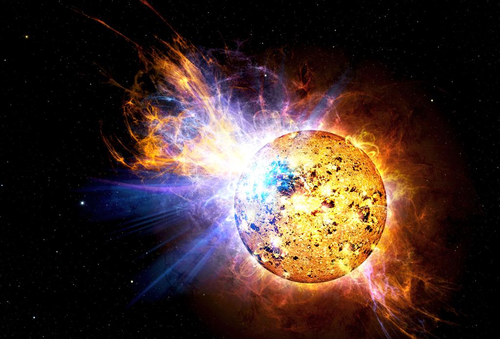 EV Lacertae Red Dwarf Flare