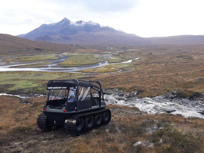 Generator Power Argocat Avenger in the Isle of Skye